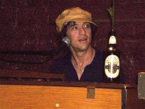 Iowa City-based musician David Zollo performing in Dubuque.