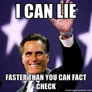 Romney Lie