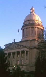 The Kentucky State Capitol.