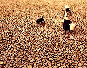 Drought and famine will be the practical reality of unchecked climate change.