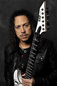 Lead guitarist Kirk Hammett.