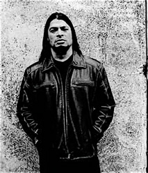 New Metallica bass player Robert Trujillo.