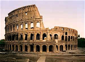 The Colosseum.