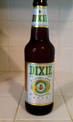 It was a fine day for one of my favorite New Orleans lagers - Dixie goes great with seafood.