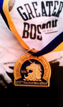 My Boston finisher's medal | Boston Proud | Boston Strong