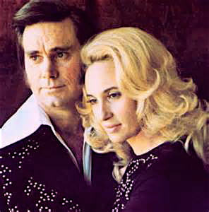 Mr. and Mrs. Country, George Jones and Tammy Wynette.