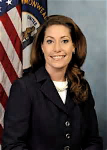 Current Ky. Sec. of State Alison Lundegren Grimes.