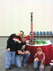 Our monument to LEGO Nation.