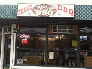 Mary Lou's BBQ, at 226 Walton Avenue, just celebrated its one year anniversary.