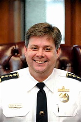 New Orleans Police Superintendent Ronal Serpas.