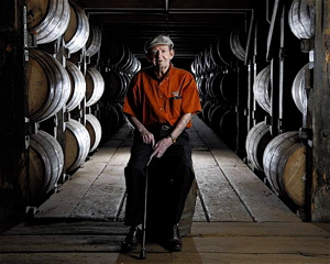 Master Distiller Emeritus, Elmer T. Lee, at Buffalo Trace Distillery in Frankfort, Ky.