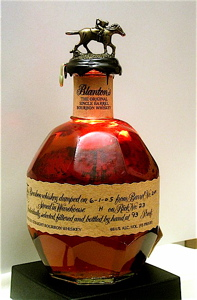 Blanton's Bourbon, with eight different stopper designs, that show the racehorse in its full range of motions.