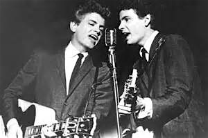 Phil Everly (left), and brother Don, of the Everly Brothers.