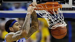 Willie Cauley-Stein puts two down with emphasis.