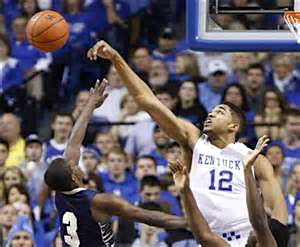 Come tall or Karl-Anthony Towns will send your shot backwards.