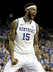 "Willie Cauley-Stein, Kentucky's 7'0"" versatile big man, brings the funk on the court to opposing teams."