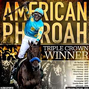 American Pharoah 1