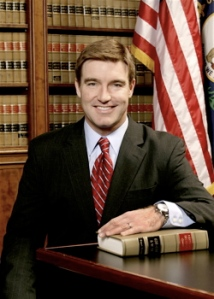 Jack Conway, current attorney general for Kentucky and Democratic candidate for governor.