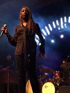 Vocalist Erica Falls.