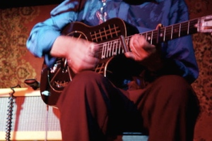 Joe Price is a traditionalist and like a blues classic, he favors a National Reso-Phonic guitar.