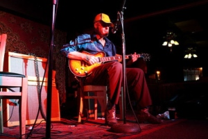 Joe Price playing to a packed house at the Mill. | Photo by Julie Staub